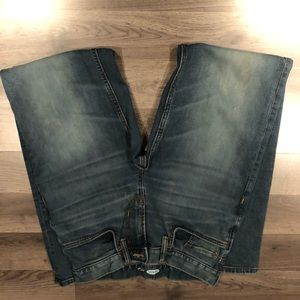 Men's size 29x34 blue jeans
